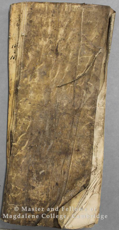 Butler's Book, 1672-1695, College Archives
