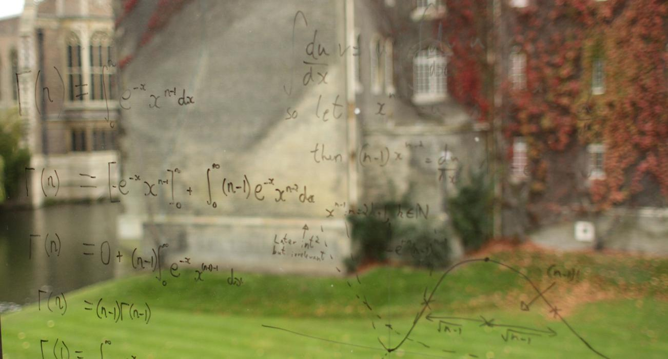 Study Mathematics at the University of Cambridge