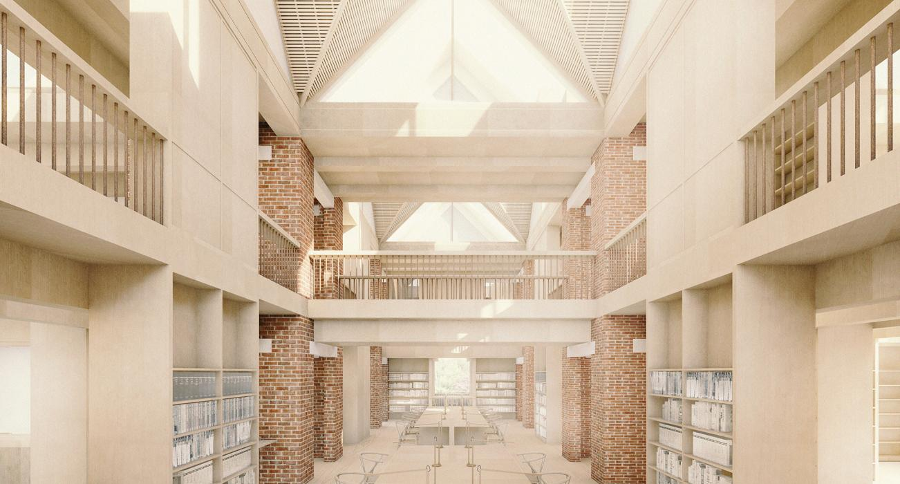 Future Foundations - A New Library for Magdalene