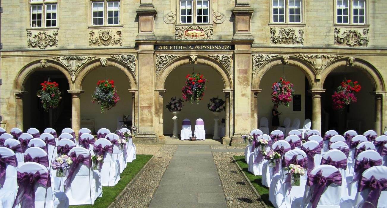 Civil Ceremonies at Magdalene College Cambridge