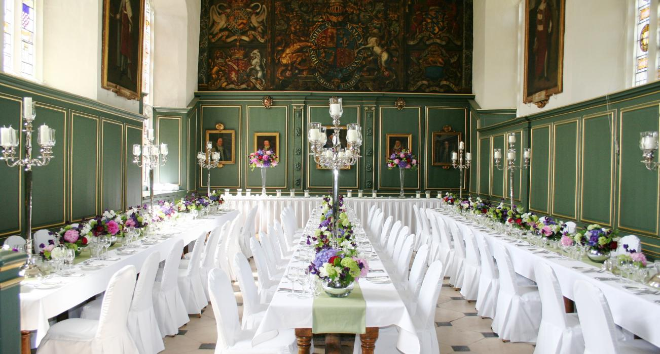 Wedding Breakfast at Magdalene College Cambridge