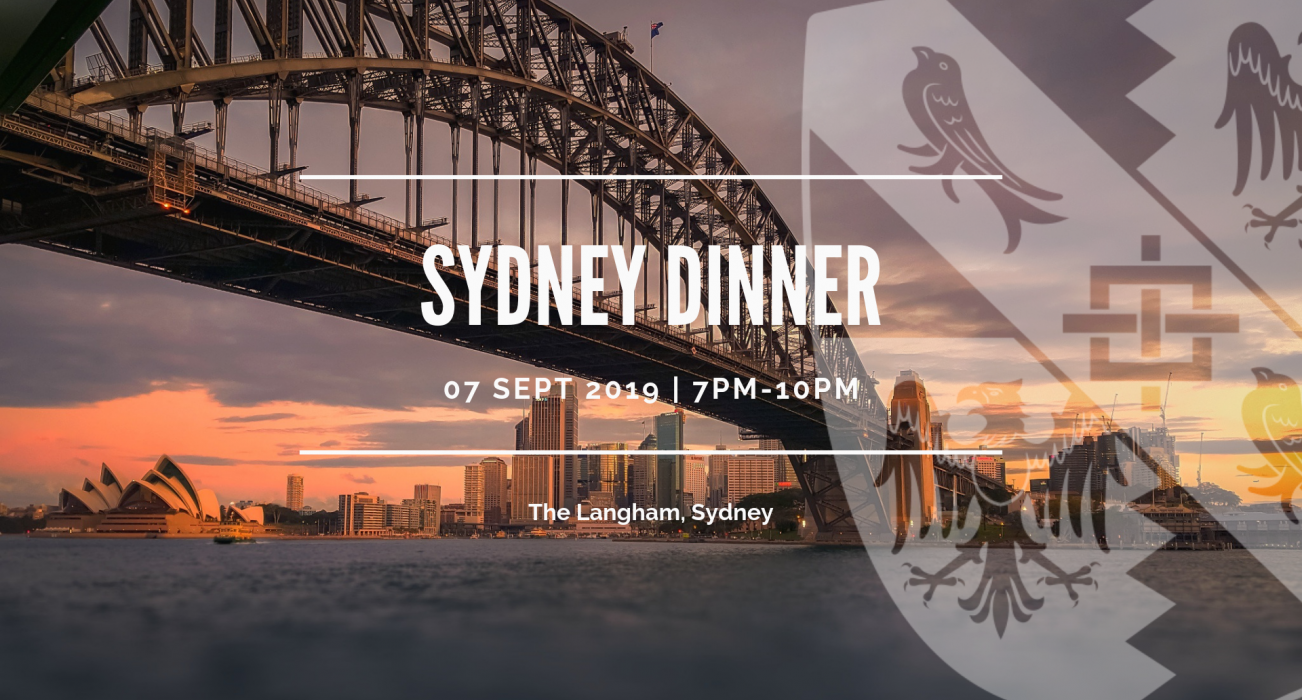 Magdalene College Sydney Dinner