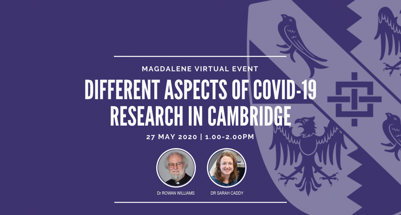 Different aspects of COVID-19 research in Cambridge