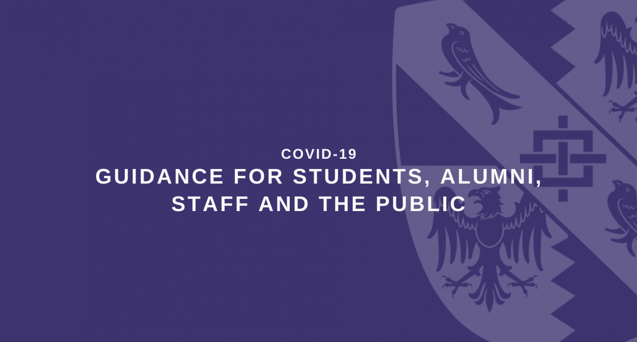 COVID-19 Guidance and advice for Magdalene students, alumni, staff and the public