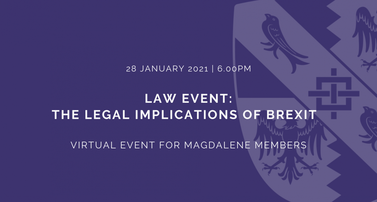 Law Event: The Legal Implications of Brexit