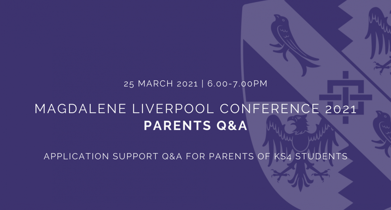 Magdalene Liverpool Conference 2021 - Parents Q&A