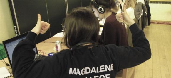 Magdalene College Telephone Campaign 2018 - Meet the student callers