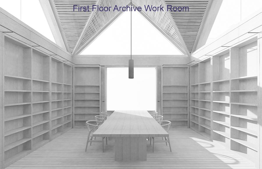 First Floor Archive Work Room