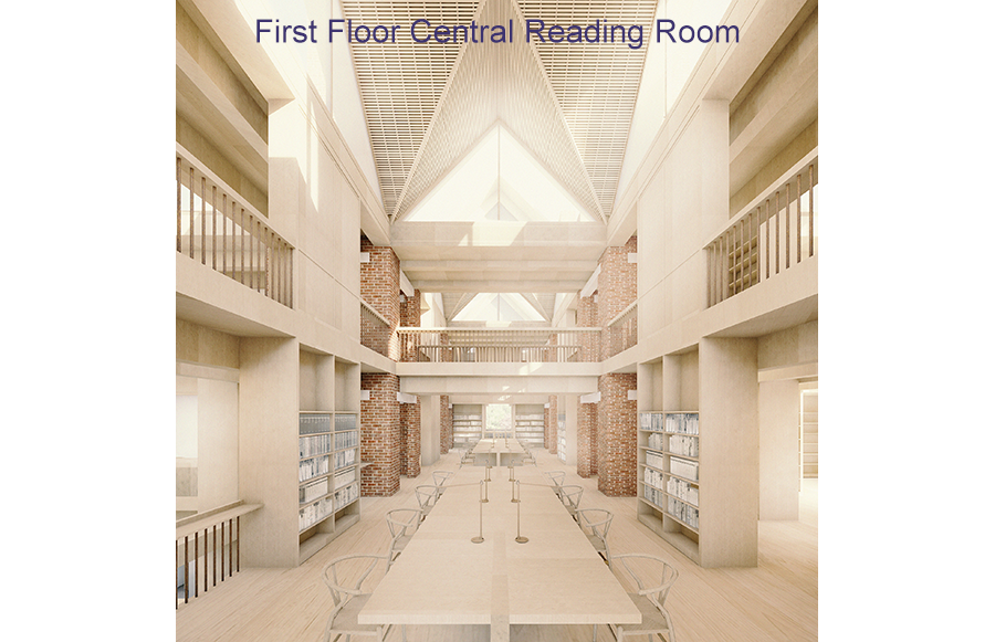 First Floor Central Reading Room