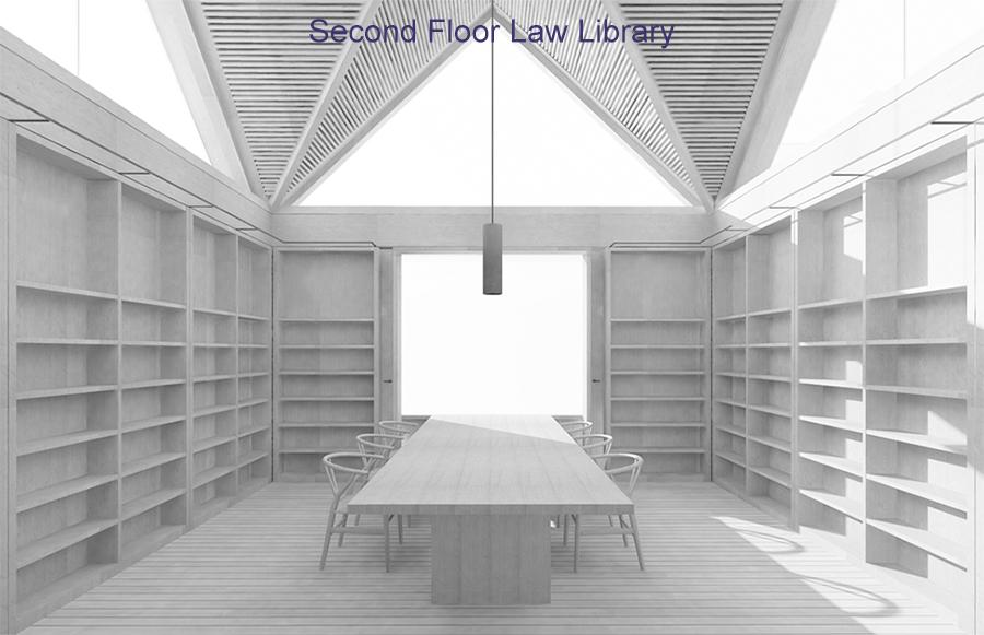 Second Floor Law Library