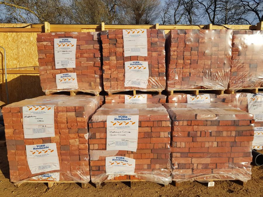 Magdalene Library Build first brick delivery