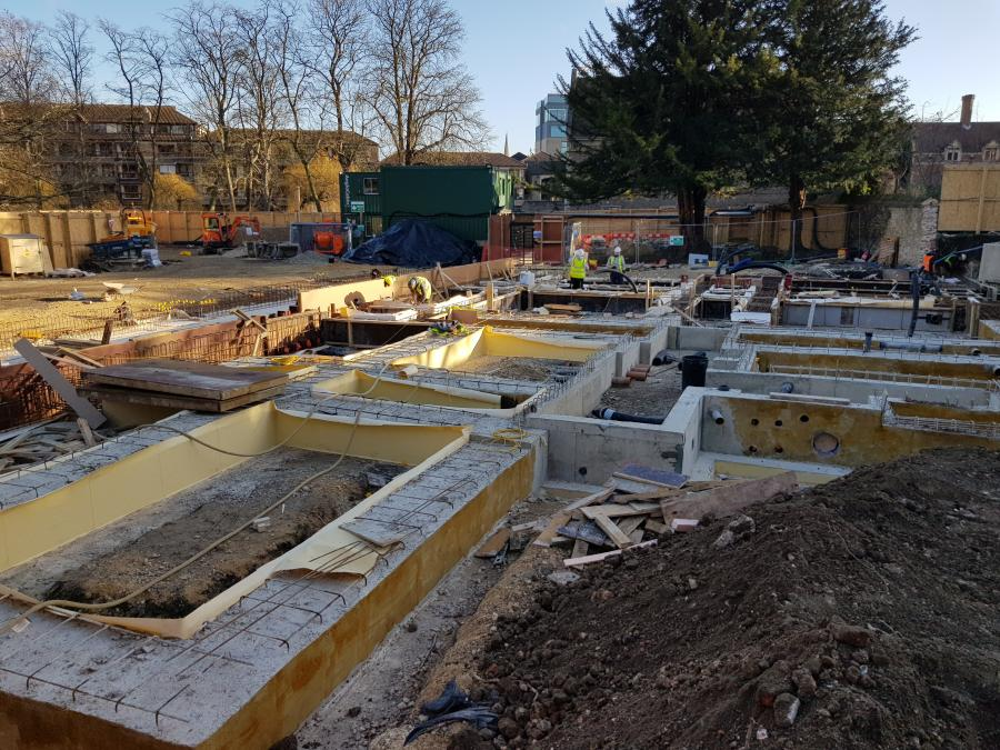 Magdalene College Library Build Jan 2019