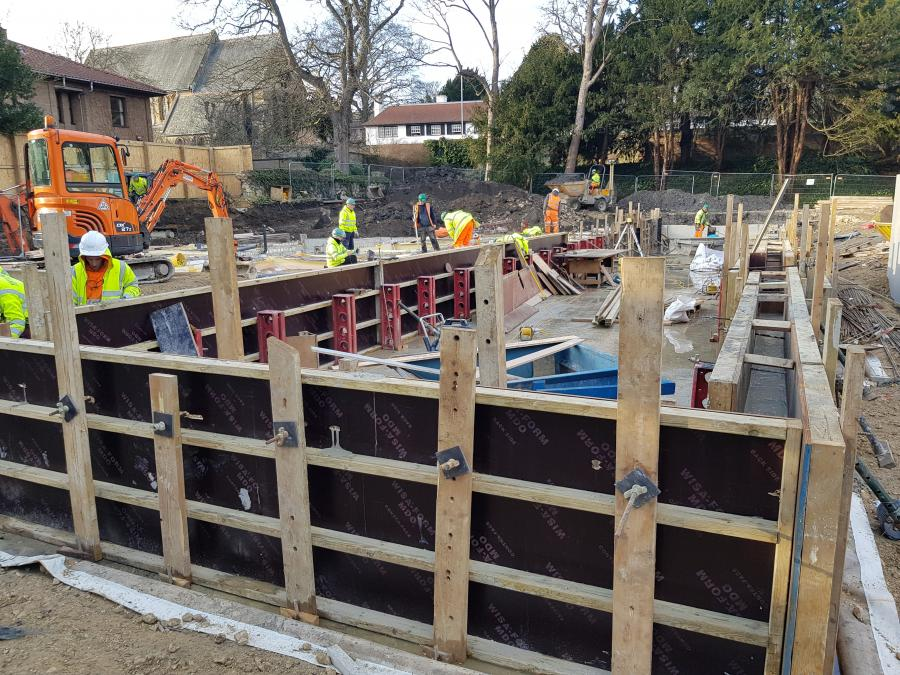 Magdalene College New Library Build January 2019