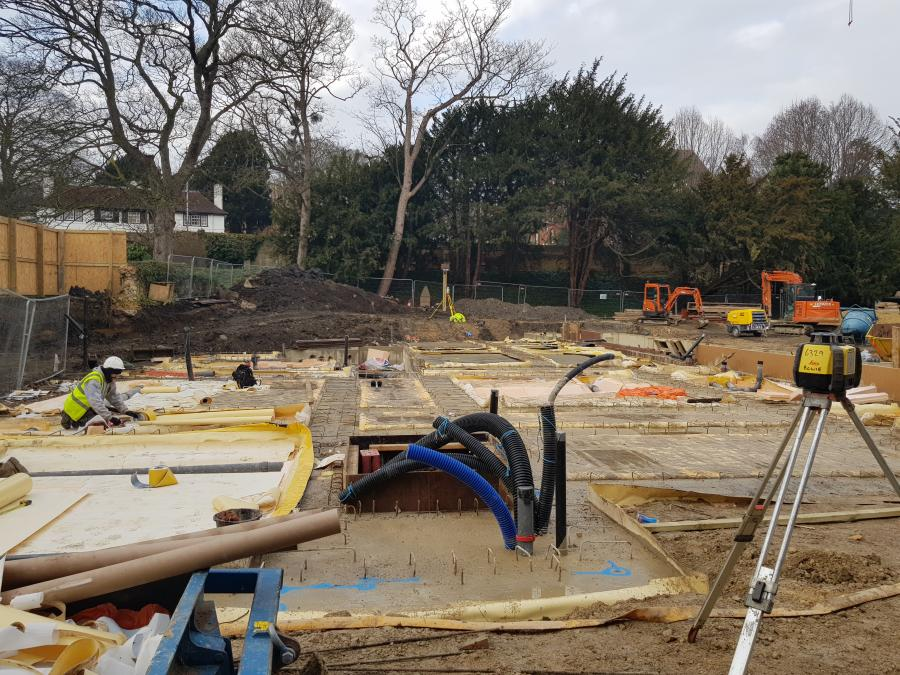 Magdalene College Library Build Insulation Jan 2019