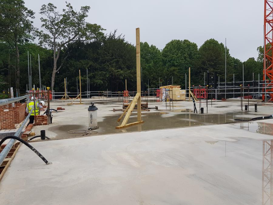 Magdalene Library Build First Floor June 2019