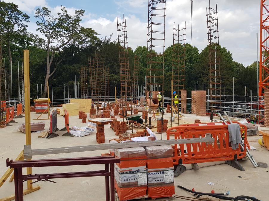 Magdalene Library Build July 2019