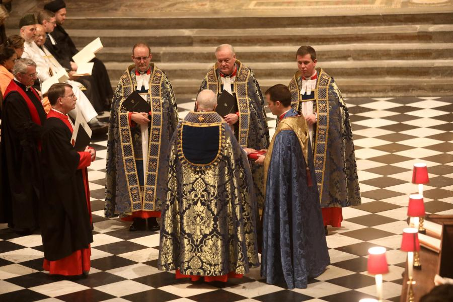 Dr David Hoyle installed as 39th Dean of Westminster - Image Credit Westminster Abbey/Andrew Dunsmore