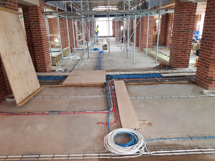 Magdalene Library Build January 2020 Wiring